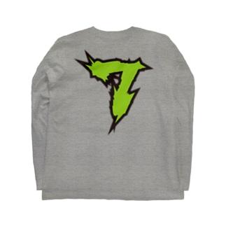 【ラグビー / Rugby】Flanker! #7!(番号入り) Long sleeve T-shirts