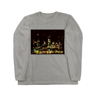 K×カットレットの工場moe!(火花) Long sleeve T-shirts