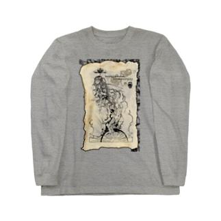 運命の輪 Long sleeve T-shirts