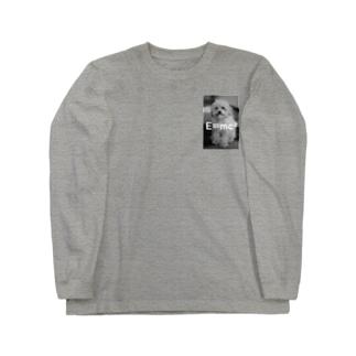 犬E=mc2 Long sleeve T-shirts