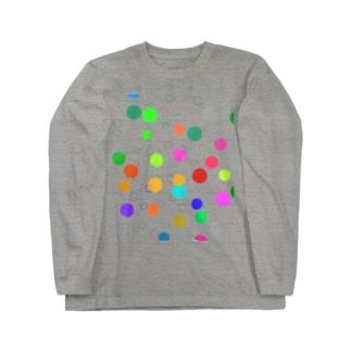 曲芸会_ぽきゃ Long sleeve T-shirts