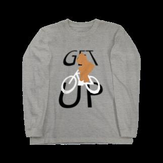 十円ショップのGET UP! Long sleeve T-shirts