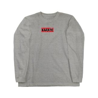 KARATE Long sleeve T-shirts