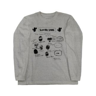 マスクマンの祭典。 Long sleeve T-shirts