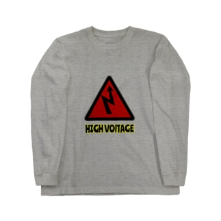 HIGH VOLTAGE Long sleeve T-shirts