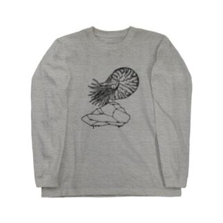 水夫の岩(light ver) Long sleeve T-shirts