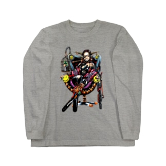 神様(カラー版) Long sleeve T-shirts