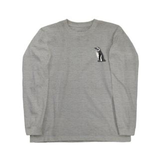 イレギュラーボーダーペンギン Long sleeve T-shirts