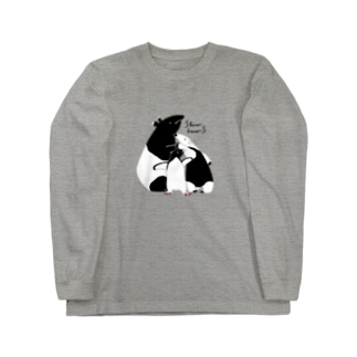 しろくろズ Long sleeve T-shirts