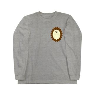 ハリネズミ-1 Long sleeve T-shirts