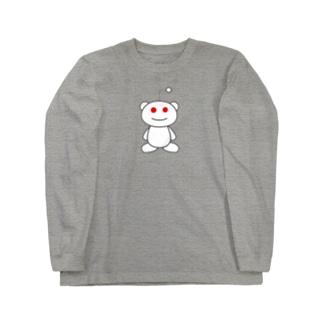 宇宙人 Long sleeve T-shirts