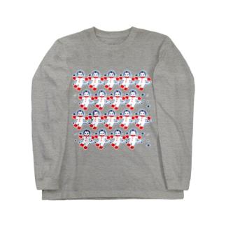 宇宙フォークダンス Long sleeve T-shirts
