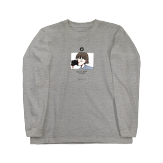 krnのカメラ少女 Long sleeve T-shirts