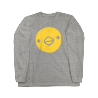 【復刻】ひよこ顔(2008年版) Long sleeve T-shirts