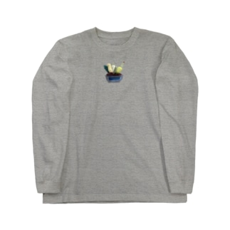 寄せ植え Long sleeve T-shirts