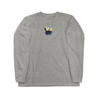寄せ植え Long sleeve T-shirts