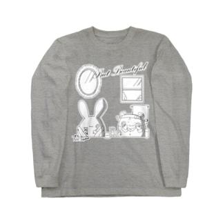 But Beautifulシリーズ Long sleeve T-shirts