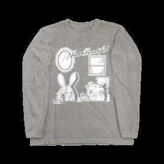 BabyShu shopのBut Beautifulシリーズ Long sleeve T-shirts