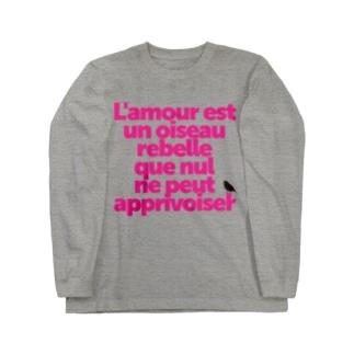 ハバネラ 【フランス語】 Long sleeve T-shirts