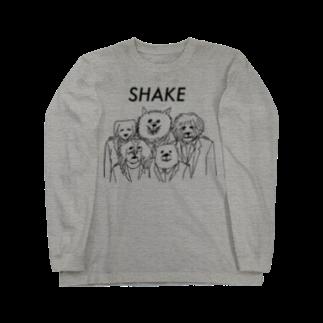 小山ゆうじろうのSHAKE Long sleeve T-shirts