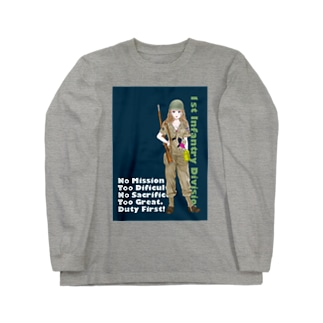 ベティ Long sleeve T-shirts