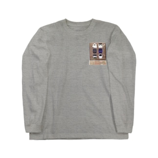 九州の鉄道 Long sleeve T-shirts