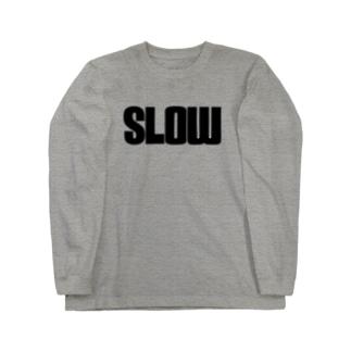 SLOW Long sleeve T-shirts