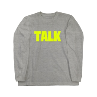 TALK Long sleeve T-shirts
