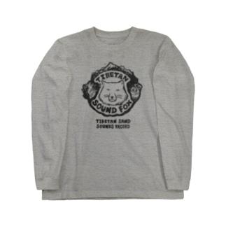チベタン サンド サウンズ・レコード Long sleeve T-shirts