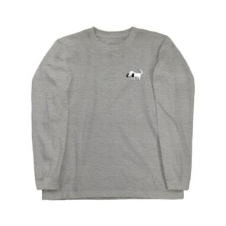 ワークアウトいぬ Long sleeve T-shirts