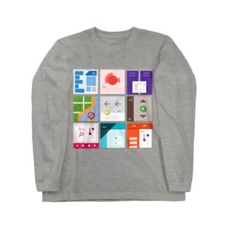 九字 Long sleeve T-shirts