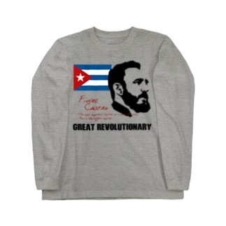 CASTRO カストロ Long sleeve T-shirts