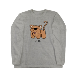 INU いぬ Long sleeve T-shirts