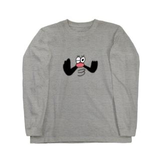 wink _ojisan Long sleeve T-shirts