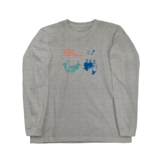 イエロー  ハイ Long sleeve T-shirts