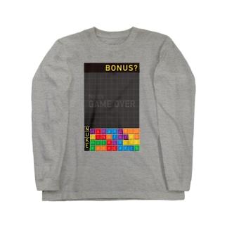 NUKE(=原子力)に対するアイロニー Long sleeve T-shirts
