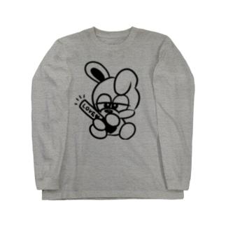 推しウサギ Long sleeve T-shirts