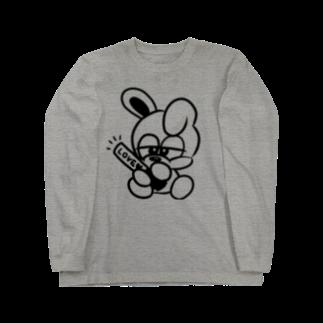 nakamaruの推しウサギ Long sleeve T-shirts
