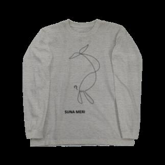 slwstp shopのSUNA MERI Long sleeve T-shirts