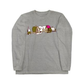 飲杉多(のみすぎた)くん Long sleeve T-shirts