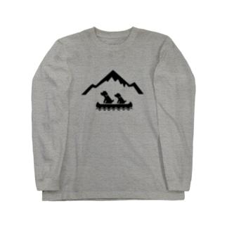 カヌー Long sleeve T-shirts
