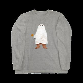 kuriko のシャボ Long sleeve T-shirts