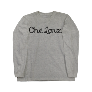 loveapplefactoryのONE LOVE Long sleeve T-shirts