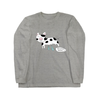 gogoteam54のGYUNYU🐮 Long sleeve T-shirts