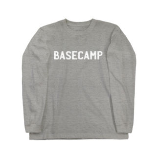 BASE-CAMPのBASE CAMP 03 WHITE Long sleeve T-shirts