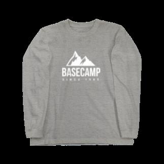 BASE-CAMPのBASE MOUNTAIN 03 WHITE Long sleeve T-shirts