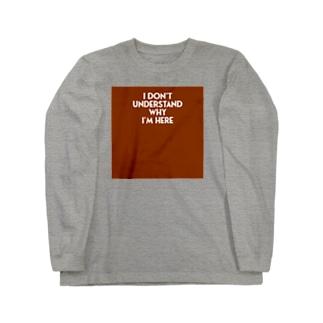 ナンデダロウ2ハピネス Long sleeve T-shirts