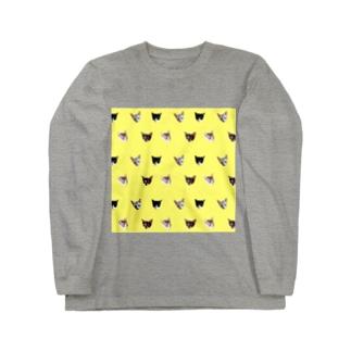 No.8 フルーツ4兄弟 ドット♪ Long sleeve T-shirts