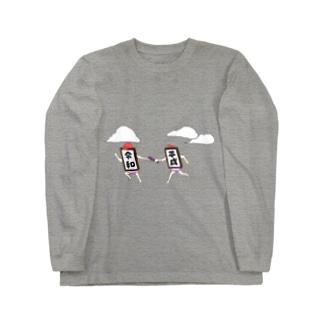 時代のバトンタッチ Long sleeve T-shirts