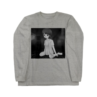 Serial experiments lain-ワイヤードコネクト- Long sleeve T-shirts